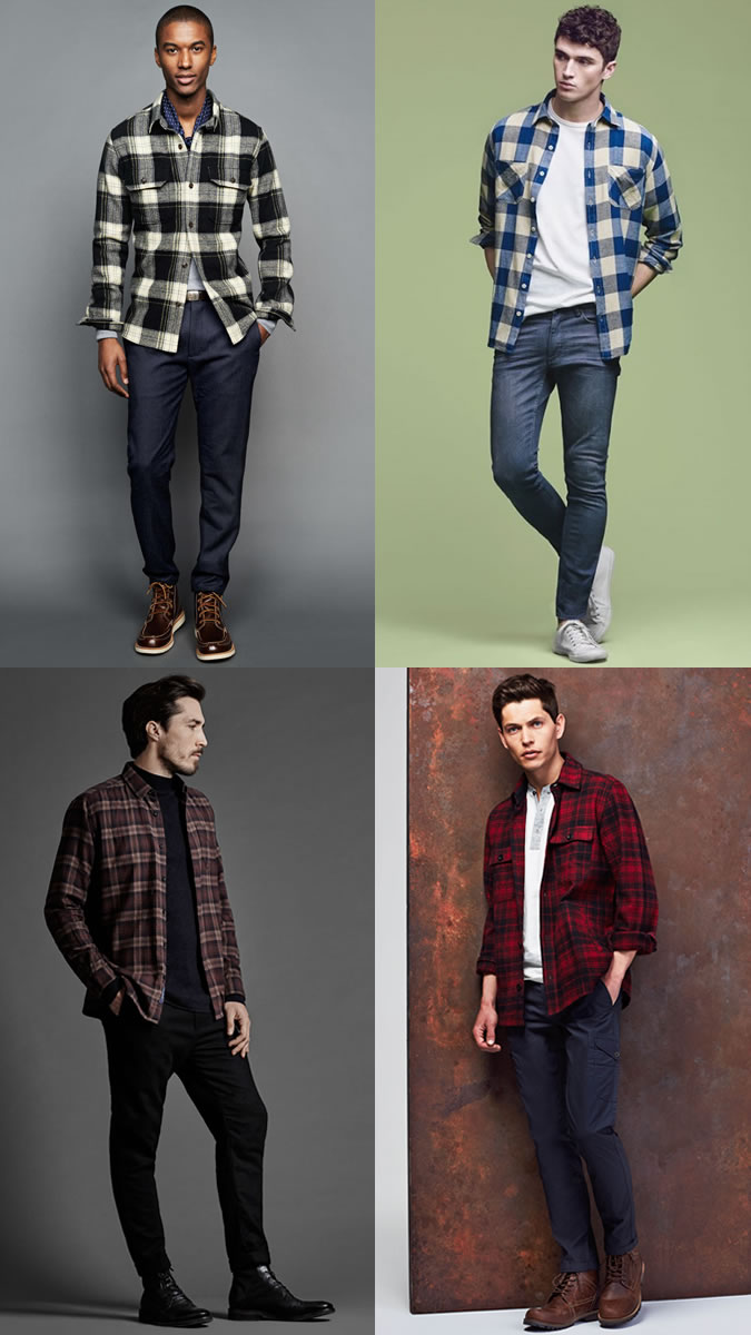 How To Wear Mens Flannel Shirts Bcd Tofu House
