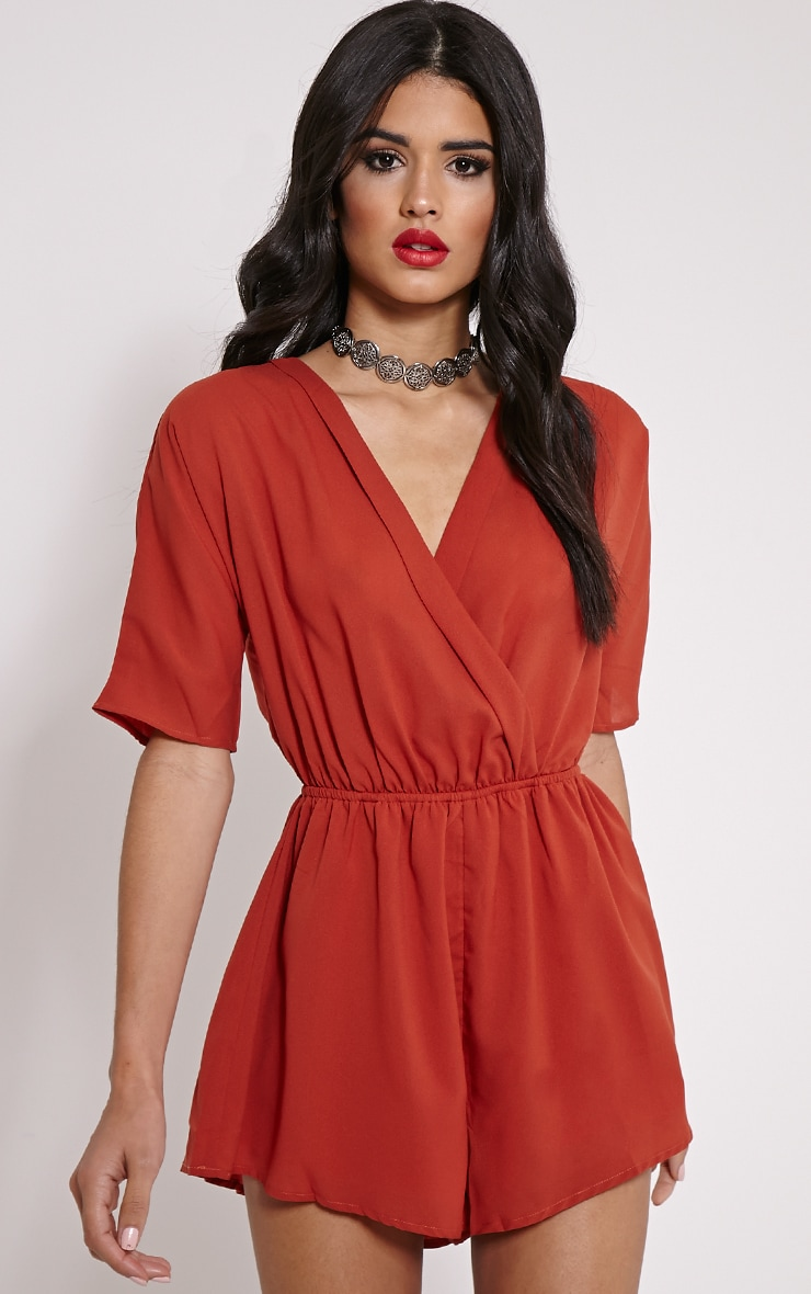Wrap Playsuits Outlet | Women
