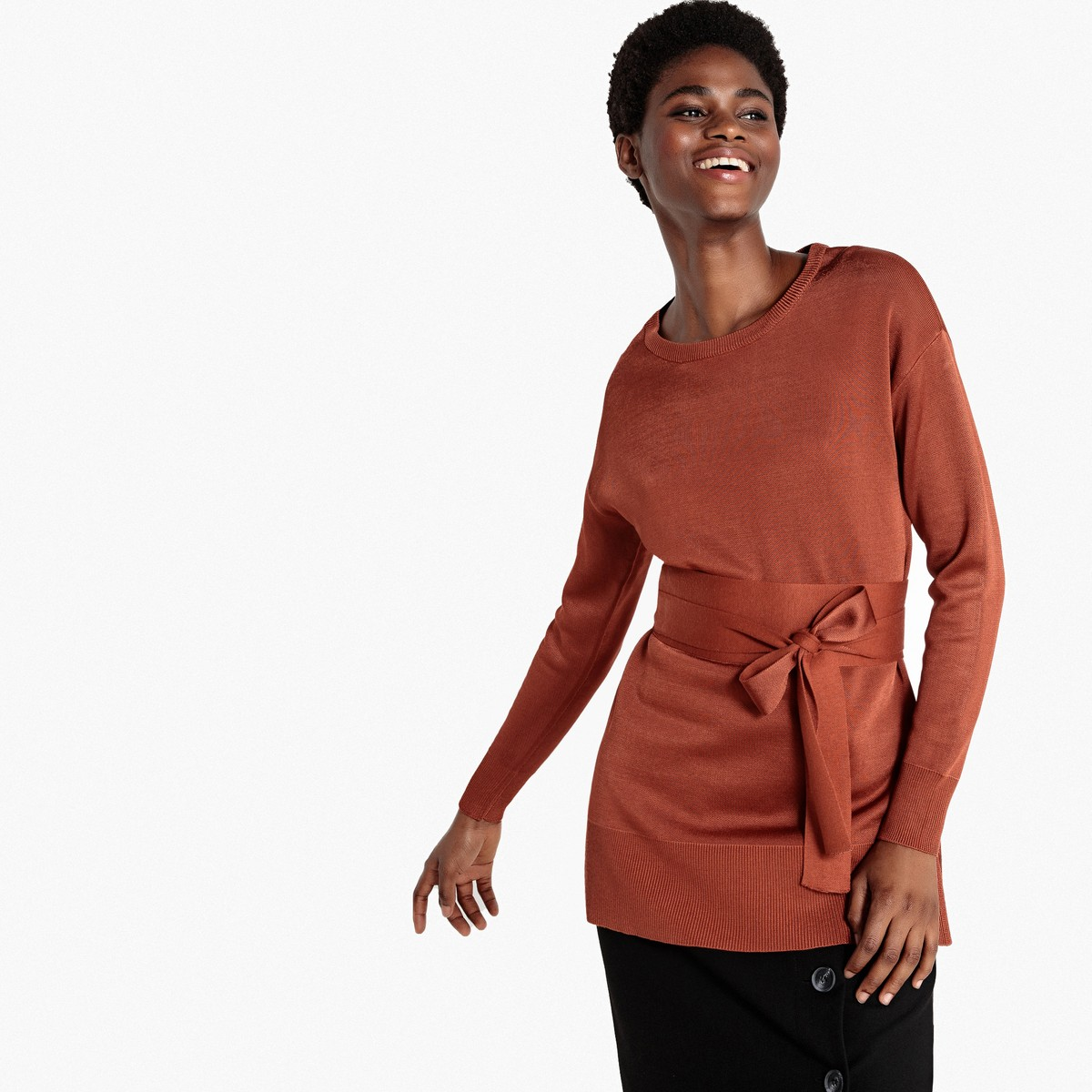 Belted Tops, Shirts & Sweaters | Women