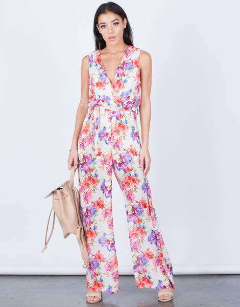 Printed Jumpsuits | Women