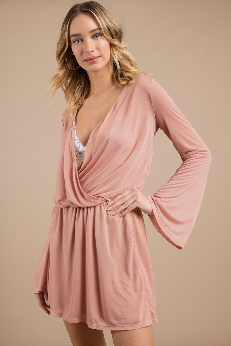 Flare & Bell Sleeve Dresses