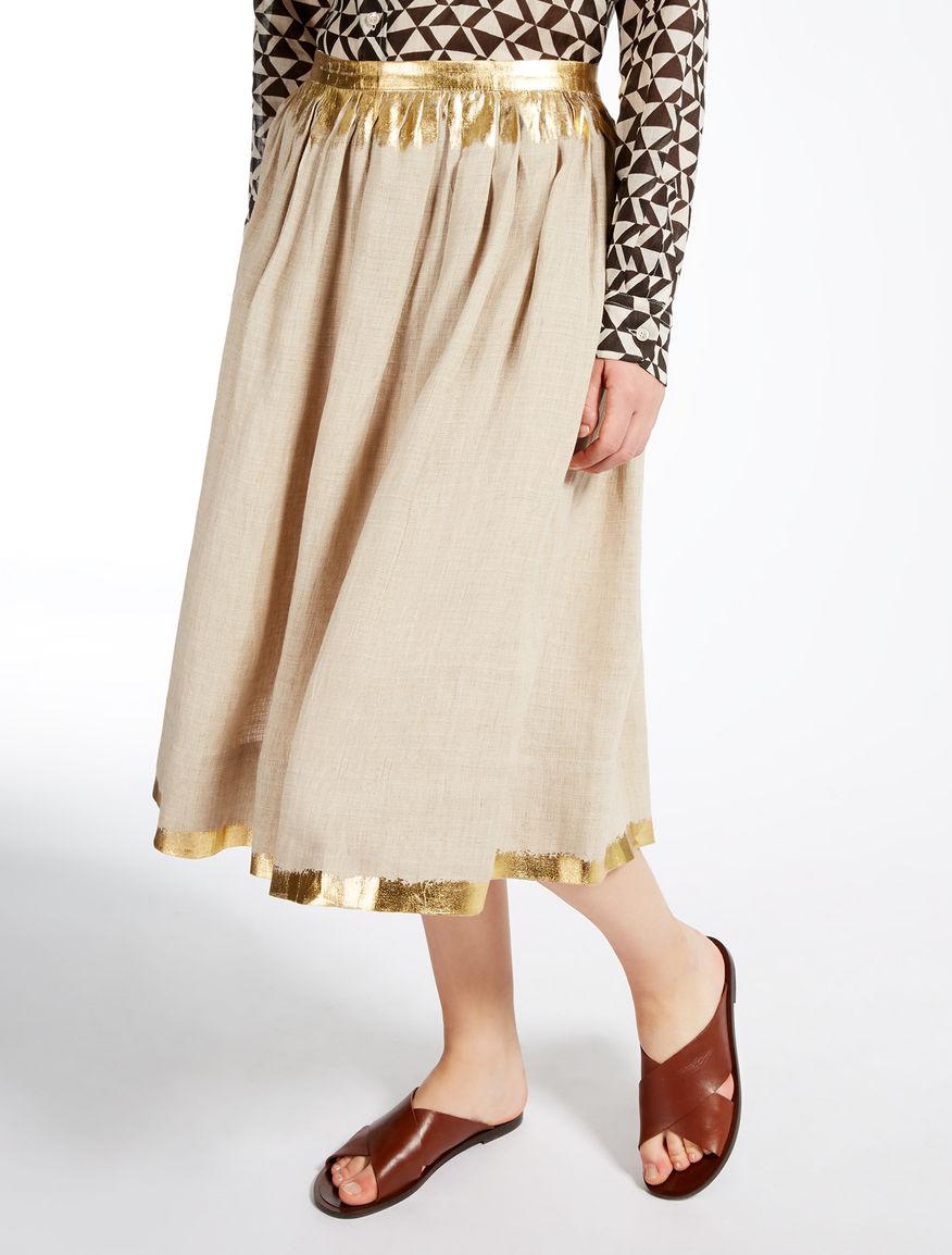 Linen Skirts | Women
