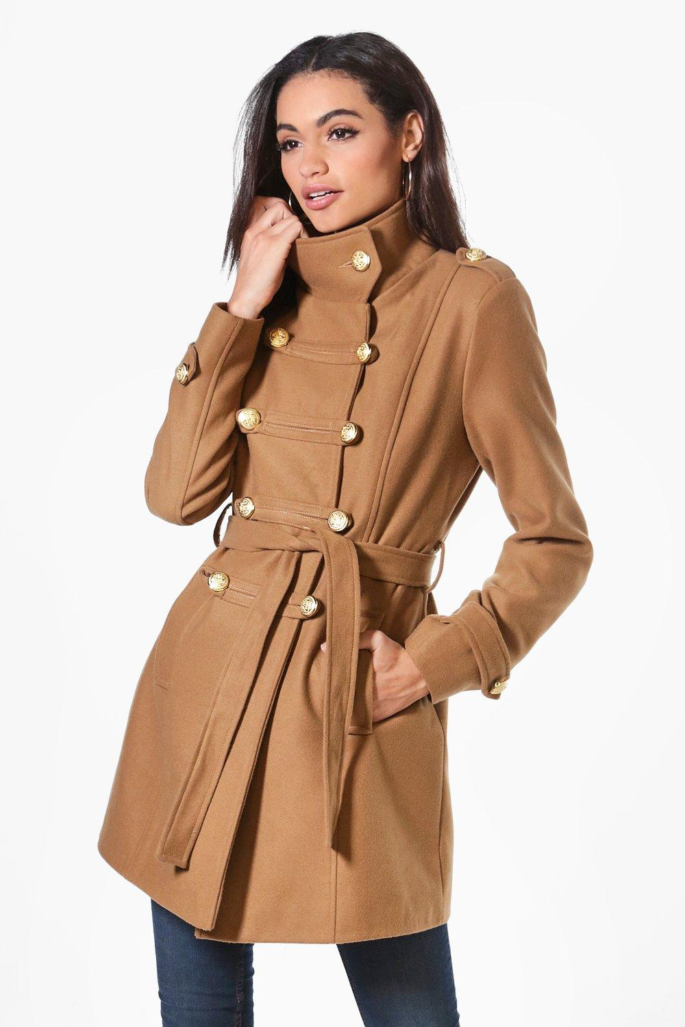 Military Style Coats & Jackets | Women
