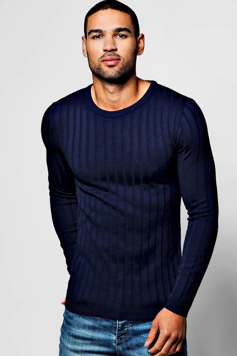Ribbed Jumpers & Sweaters | Men