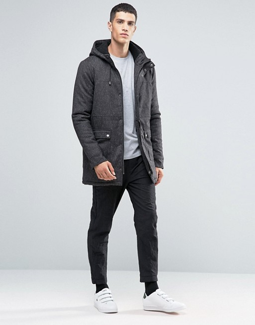 Hooded Jackets & Parkas for Men