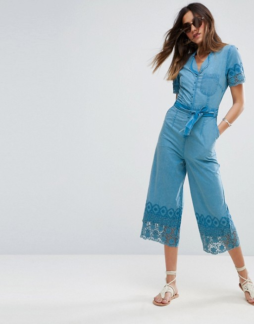 Chambray Jumpsuits, Playsuits & Rompers | Women