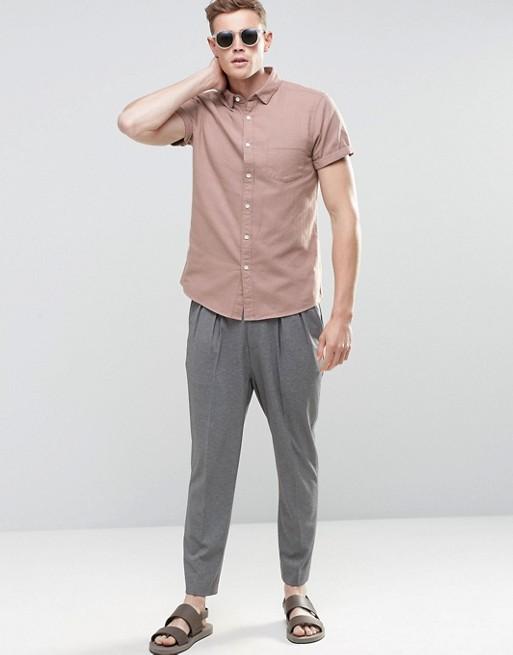Short Sleeve Shirts   Men