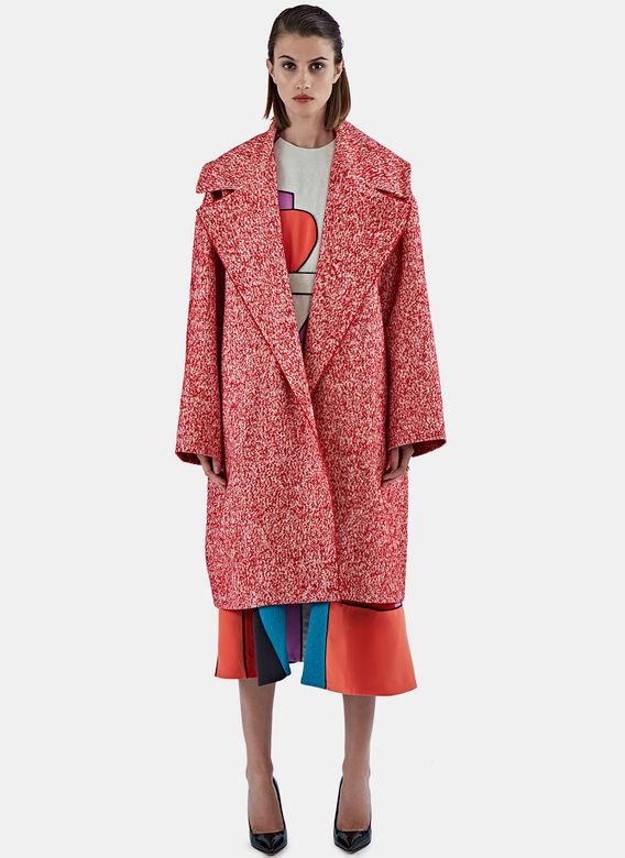 Etui na kolorowy zimowy płaszcz