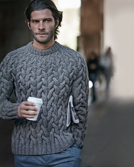 Cable Knit Sweaters | Men