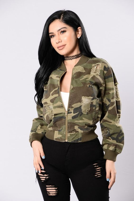 Womens Camouflage